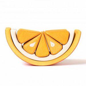 mandarina de lemn